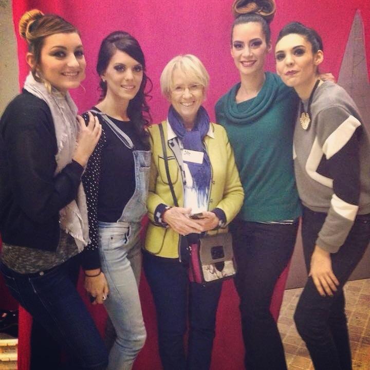 Photo souvenir avec Jacqueline Mercotte de l'émission Le Meilleur Pâtissier sur M6